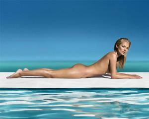 Kate Moss per St. Tropez