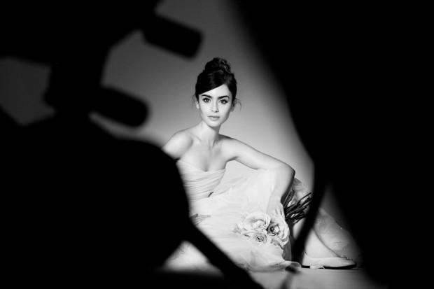 Lily Collins foto Barwerd van der Plas for Lancôme ©2013