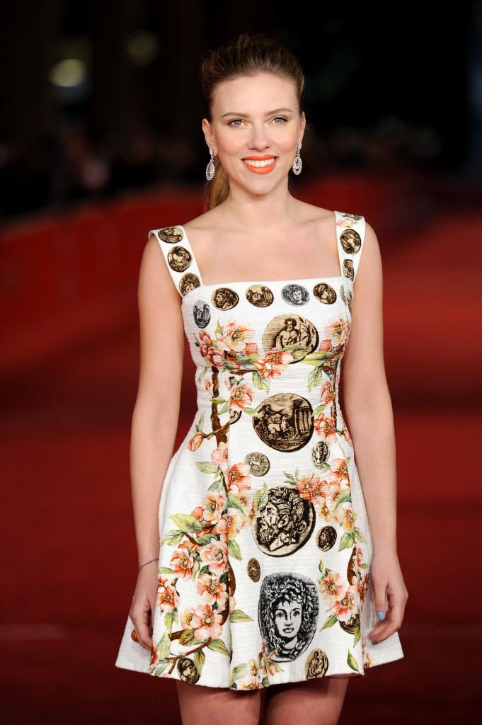 Scarlett Johansson Trucco Dolce & Gabbana.