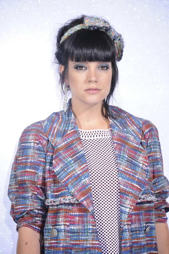 Lily Allen - Défilé CHANEL HC PE 2014