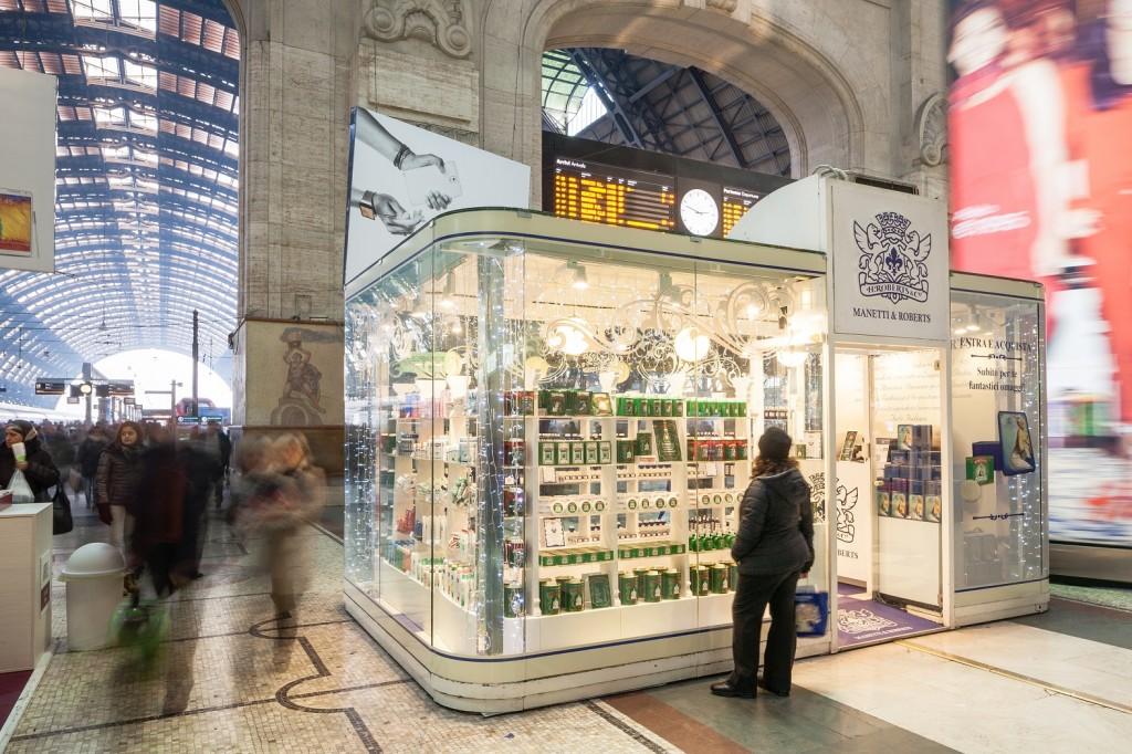 Temporary Store Manetti & Roberts Stazione Centrale