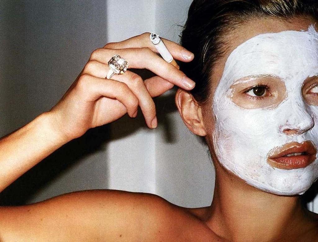 Kate Moss maschera carnevale