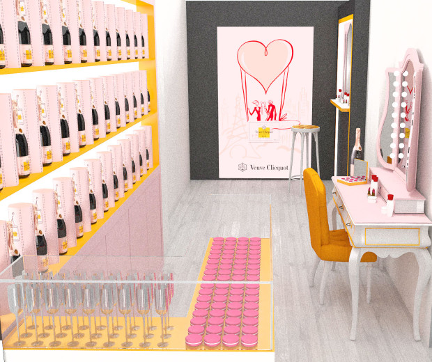 Rosé Champagne & Make Up Bar_champagnerie