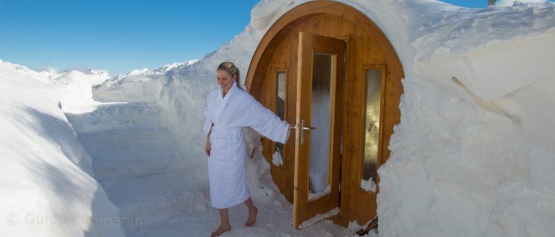 Farsi una sauna a cortina la pi alta quella del for Costo della costruzione di una sauna domestica