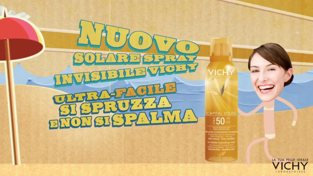 Vichy Spray Invisibile Idratante Capital Soleil Spf 50