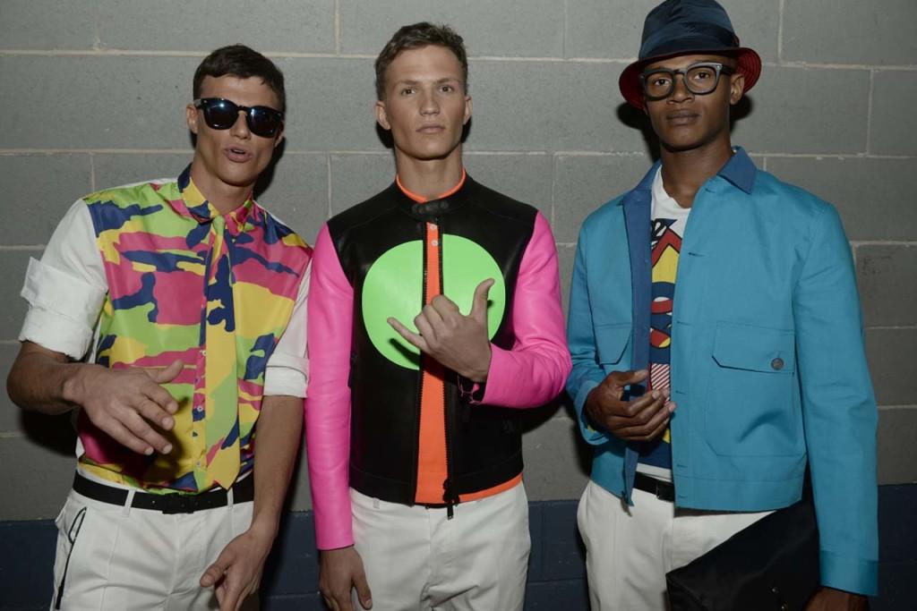Nails&Beauty - DSquared2 SS 2015 Men Fashion Show