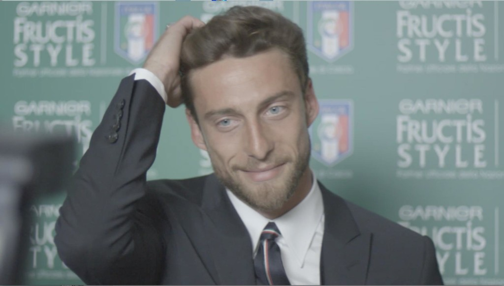 Garnier Gel Fructis Natural Chic Claudio Marchisio