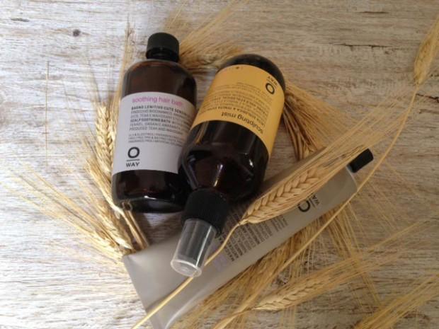 Organic Way Sculpting Mist, Soothing Hair Bath e Silk'n Glow Hair Mask