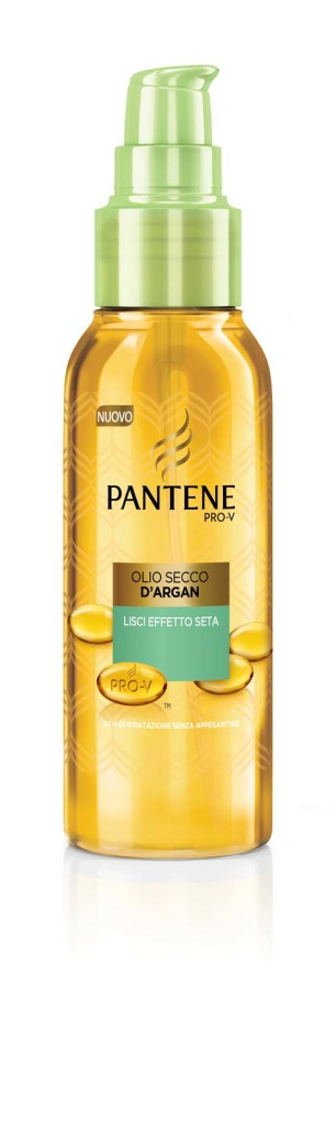 Pantene Olio Secco con Argan Lisci Effetto Seta
