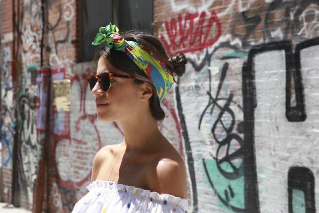 foulard nei capelli 3