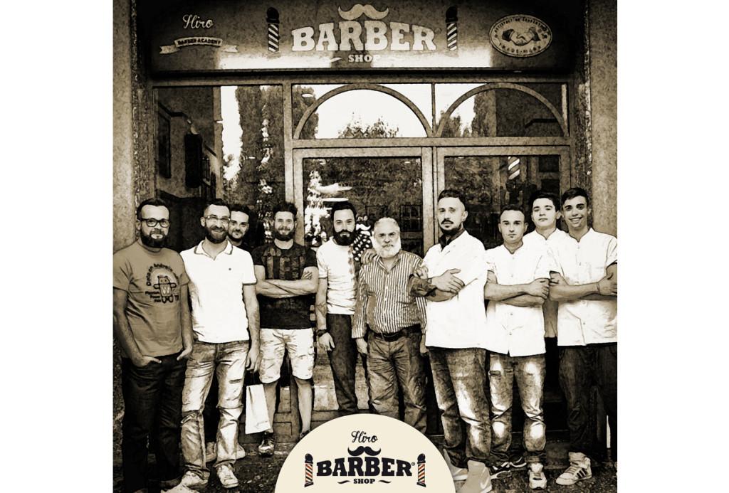 La squadra di Hiro Barber Shop
