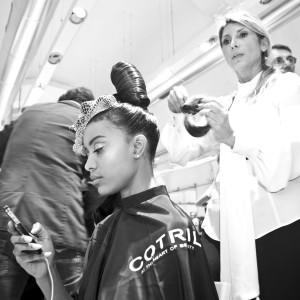 Italian Hairdressing Award. Nicole Vinti